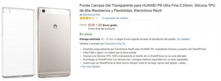 Imagen - 5 fundas para el Huawei P8