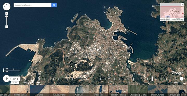 Imagen - Google Earth Timelapse, los cambios del planeta en los últimos 32 años