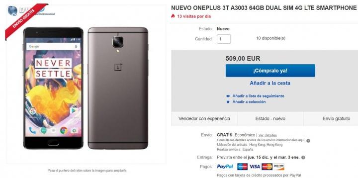 Imagen - Dónde comprar el OnePlus 3T