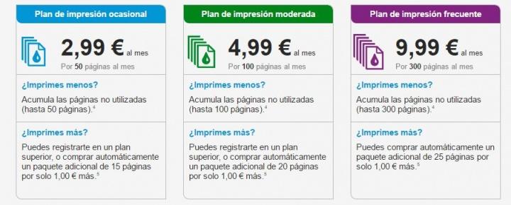 Imagen - Probamos HP Instant Ink, el servicio de reposición de tinta con el que pagamos por página