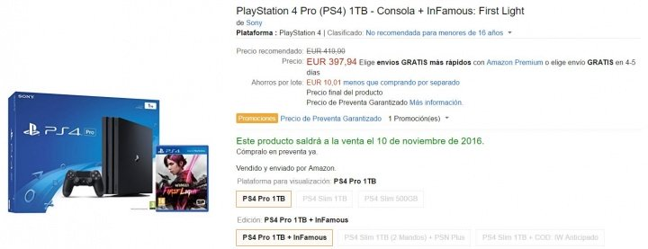 Imagen - 7 tiendas dónde comprar la PlayStation 4 Pro