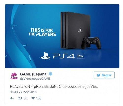 Imagen - Game podría lanzar un Plan Renove con la PlayStation 4 Pro