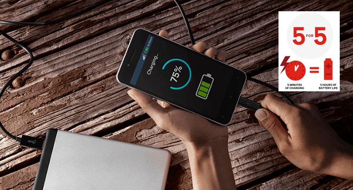 Podremos cargar el 50% de batería en solo 15 minutos con Quick Charge 4.0