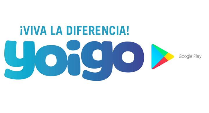 Paga las compras en Google Play en tu factura con Yoigo