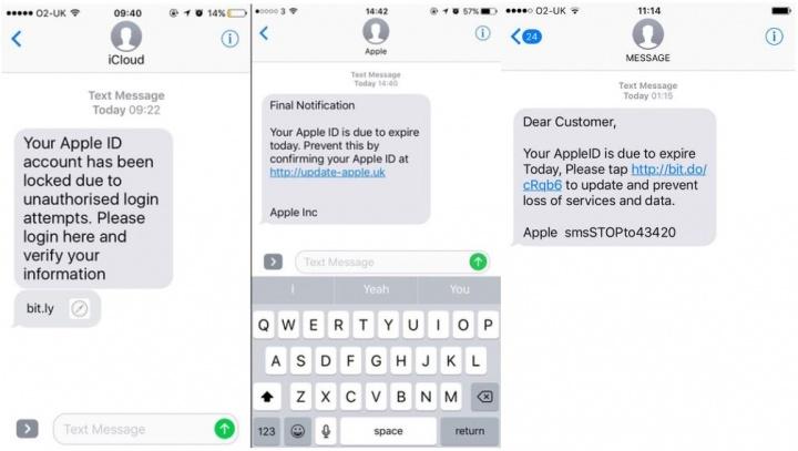 Imagen - Nueva estafa por SMS puede robarte los datos de iCloud