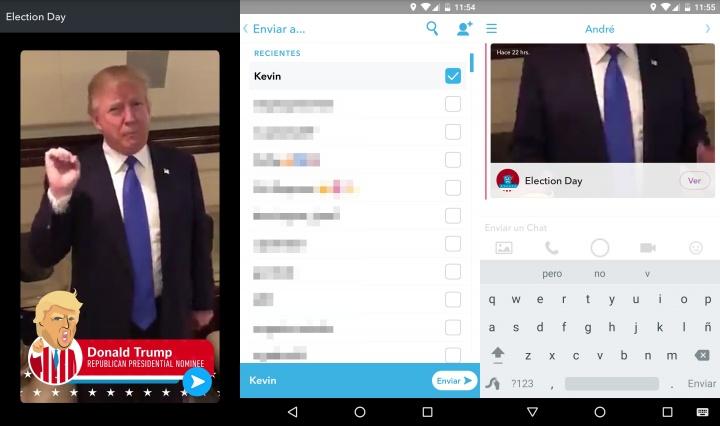 Imagen - Snapchat ya da la posibilidad de compartir snaps