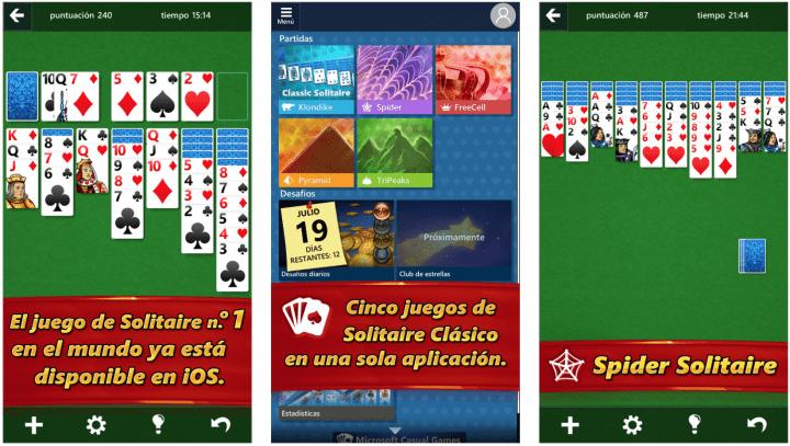 Imagen - Descarga el mítico Solitario de Microsoft para iOS y Android