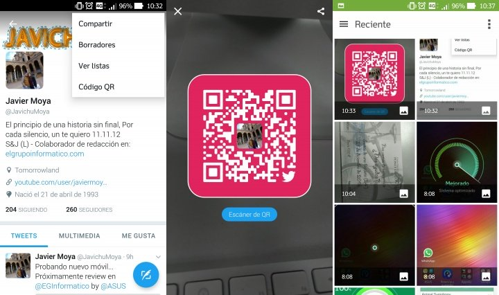 Imagen - Twitter ya permite seguir usuarios a través de códigos QR