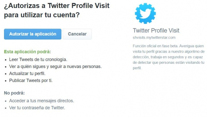 Imagen - ¡Cuidado! Twitter no lanza una actualización para ver quién visita tu perfil