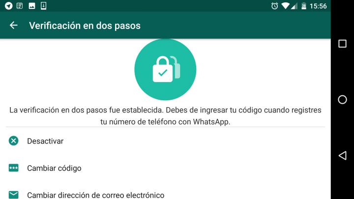 Imagen - Cómo recuperar el PIN de WhatsApp