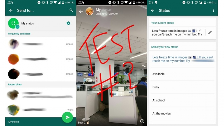 Imagen - WhatsApp imitará a Instagram Stories con el nuevo WhatsApp Status