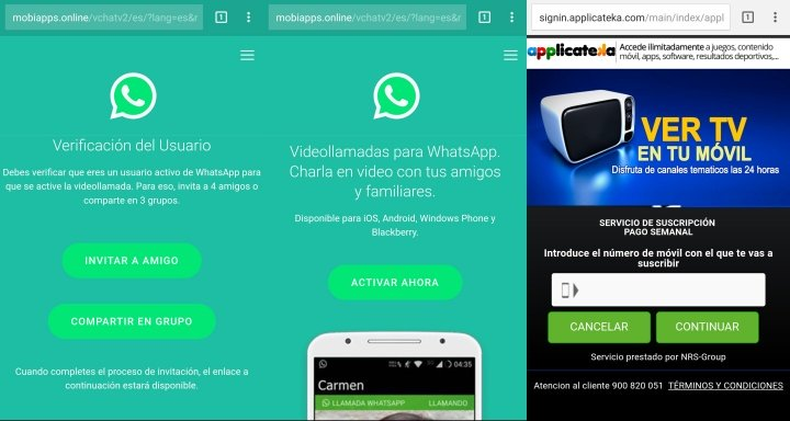 Imagen - Cuidado con las falsas invitaciones a las videollamadas de WhatsApp