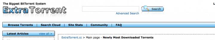 Imagen - ExtraTorrent se queda sin tres dominios