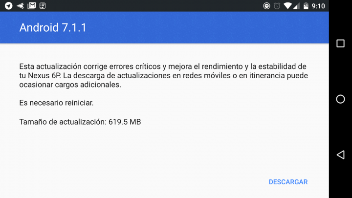 Imagen - Android 7.1.1 Nougat ya está disponible para Google Pixel y dispositivos Nexus