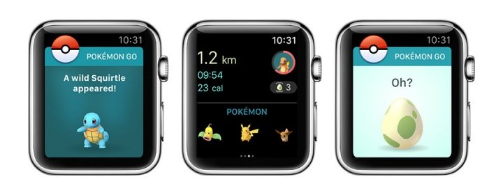 Imagen - Pokémon Go ya está disponible en el Apple Watch