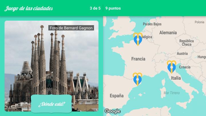 Imagen - Sigue a Papá Noel, la app de Google con minijuegos navideños