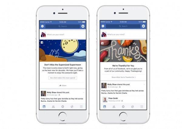 Imagen - Facebook nos informará de eventos importantes al estilo de los Doodle de Google