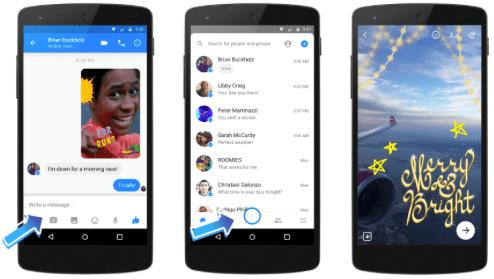 Imagen - Facebook Messenger mejora su cámara con máscaras, efectos 3D y filtros