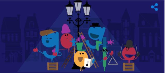 Imagen - Google te desea Felices fiestas con un Doodle