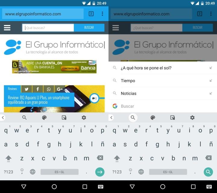 Imagen - Descarga Gboard para Android, el nuevo teclado de Google con buscador integrado