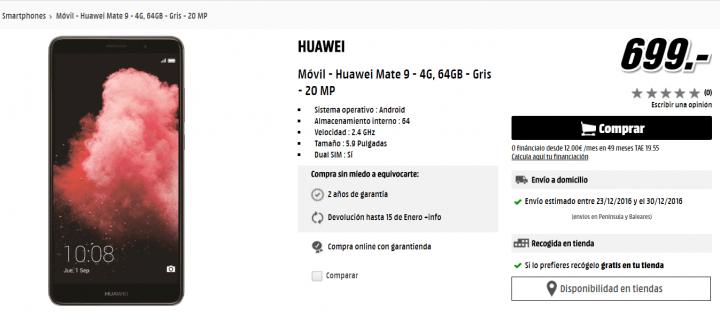 Imagen - Dónde comprar el Huawei Mate 9