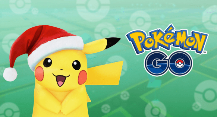 Pokémon Go recibe nuevos pokémon y un Pikachu navideño