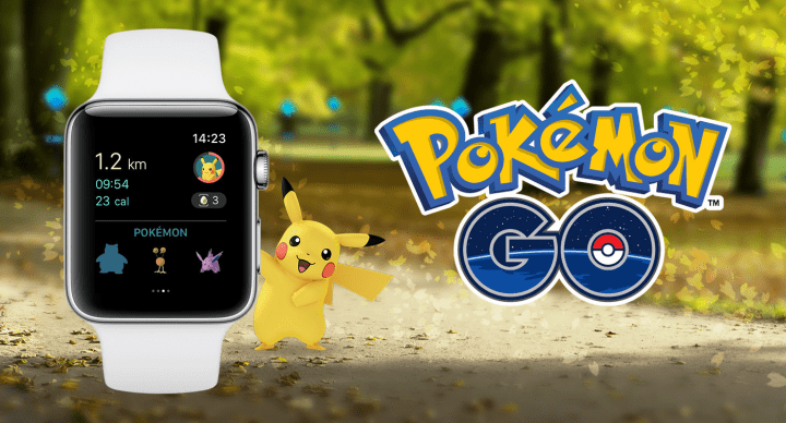 Pokémon Go ya está disponible en el Apple Watch