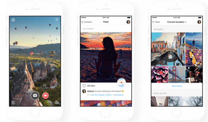 Imagen - Prisma ya muestra las fotos de los usuarios cercanos