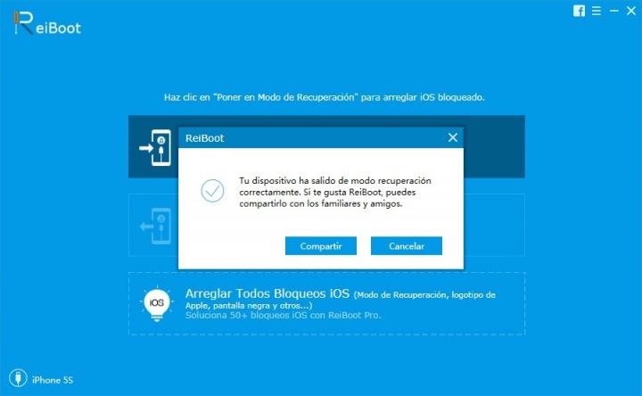 Imagen - ReiBoot, soluciona los cuelgues, problemas de arranque y bloqueos de iOS