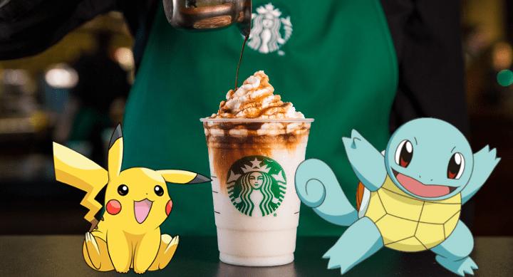 Pokémon Go se asociaría con Starbucks y ofrecería un pokémon exclusivo