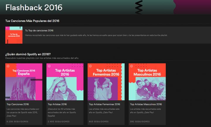 Imagen - Cómo ver tu Top de canciones 2016 en Spotify