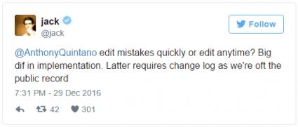 Imagen - Twitter podría permitir modificar los tweets una vez publicados
