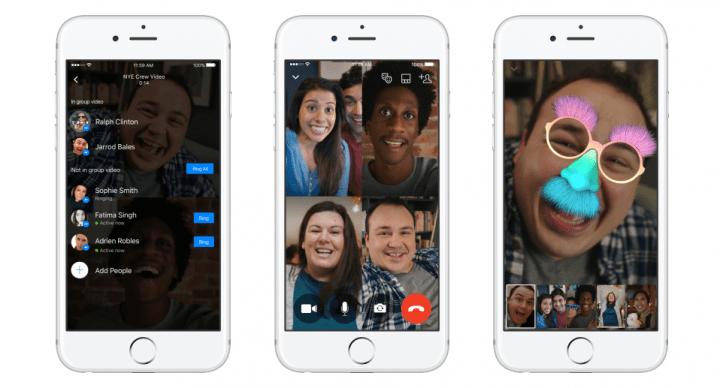 Imagen - Facebook lanza las videollamadas en grupo