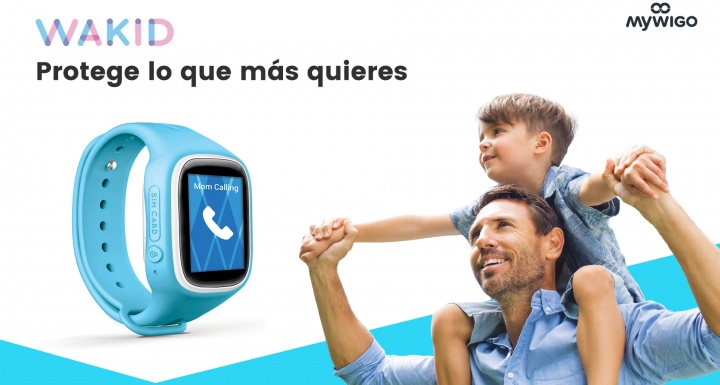 Imagen - MyWigo lanza Wakid, un smartwatch infantil con localizador GPS