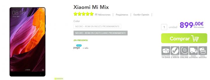 Imagen - Dónde comprar el Xiaomi Mi Mix