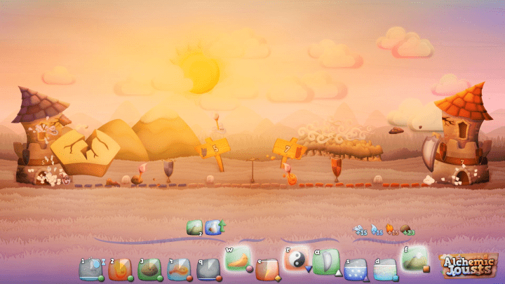 Imagen - Probamos Alchemic Jousts, el juego español de combate elemental en 2D