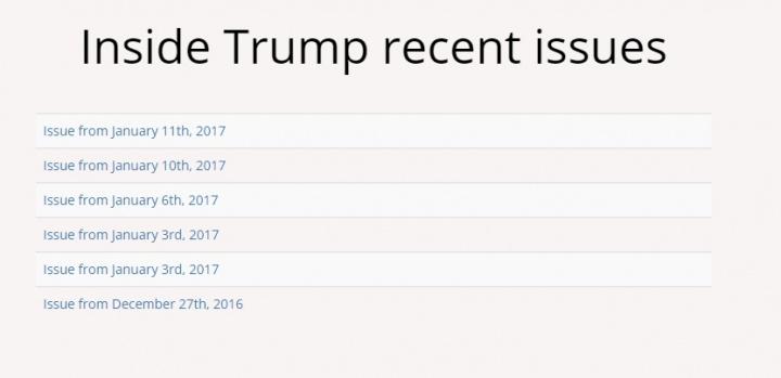 Imagen - Conoce los planes de Donald Trump en sus primeros 100 días de gobierno con esta web