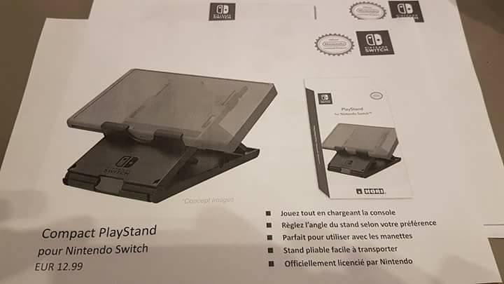 Imagen - Se filtran los accesorios de la Nintendo Switch