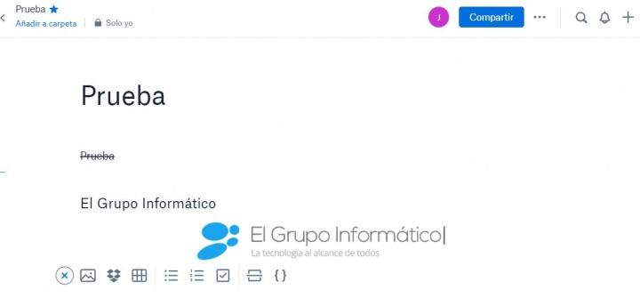 """Imagen - Dropbox Paper, el """"Office"""" del servicio en la nube"""