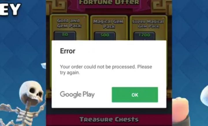 Imagen - Clash Royale retiene por error el dinero de las compras en Google Play