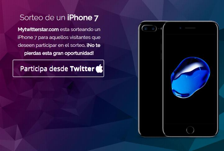 Imagen - Circula por Twitter un falso sorteo de un iPhone 7