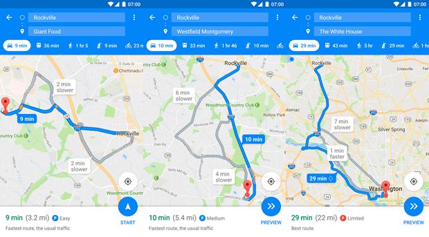 Imagen - Crear rutas sin conexión en Google Maps