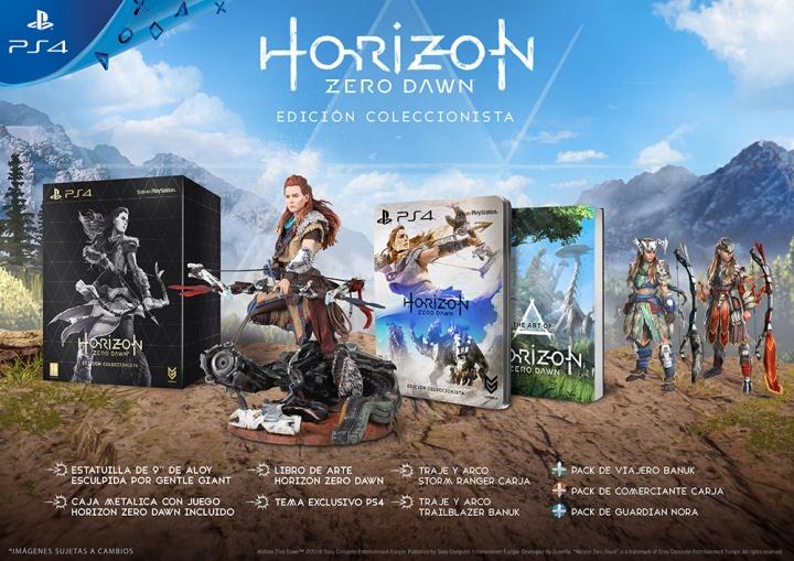 Imagen - Sony anuncia el Pack especial de PlayStation 4 y Horizon: Zero Dawn