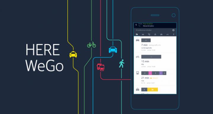 WhatsApp podría integrar los mapas de Here WeGo
