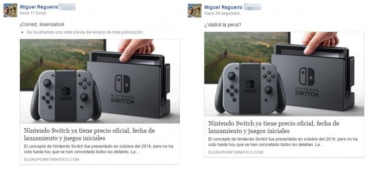 Imagen - Facebook ya no indica si una publicación ha sido editada