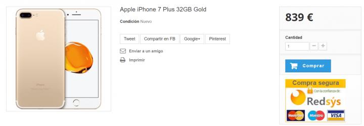Imagen - Dónde comprar el iPhone 7 Plus más barato