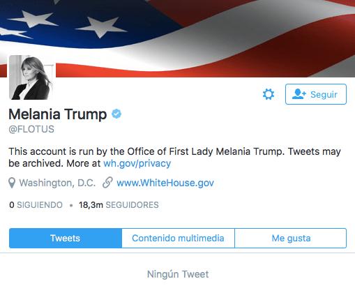 Imagen - La cuenta POTUS elimina todos sus tweets con la llegada de Donald Trump