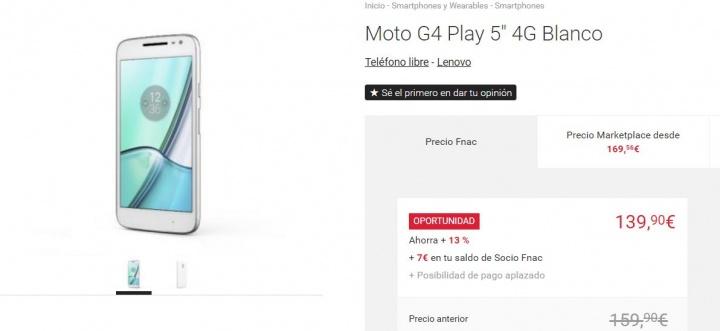Imagen - 7 tiendas dónde comprar el Moto G4 Play