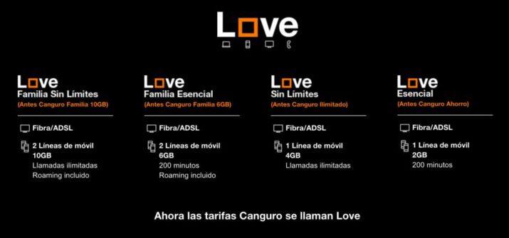 Imagen - Orange subirá los precios de las tarifas Love en febrero