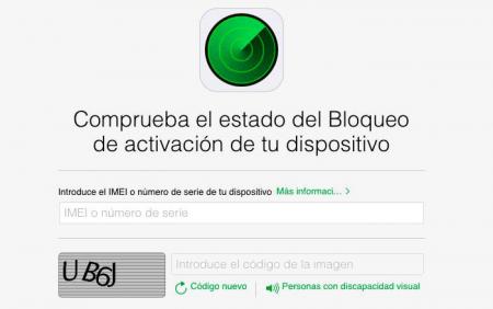Imagen - Apple cierra su página que indica si un iPhone es robado o está bloqueado